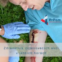 Akreditovaný kurz - Zdravotník zotavovacích akcí v letních horách