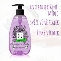Antibakteriální mýdlo s vůní fialek - 500ml