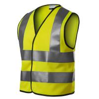 Bezpečnostní dětská reflexní vesta - žlutá