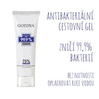 Antibakteriální gel na ruce GOTDYA 80ml