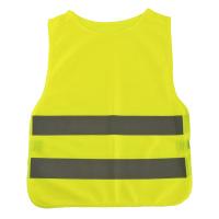 Dětská reflexní vesta - žlutá