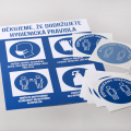 Nové bezpečnostní značení - hygienická pravidla