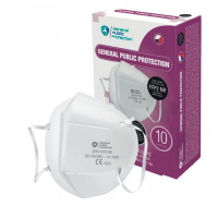 Filtrační polomaska - Respirátor FFP2 - 10ks