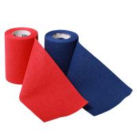 Idealast-haft Obinadlo pevné samodržící - 10ks 8cm x 4m - červená+modrá