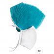 NANO MED.CLEAN - 1x Bavlněná rouška + 10x nanofiltr - bílá