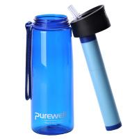 Tritanová láhev na vodu s filtrem PUREWELL