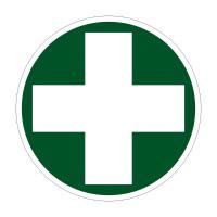 Samolepící fólie - křížek lékárnička