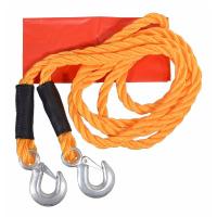 Tažné lano s karabinami do auta (3000kg)