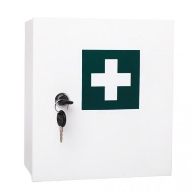 Závěsná plechová lékárnička S