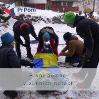 Zážitkový kurz - První pomoc v zimních horách